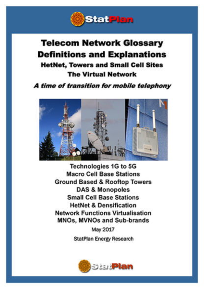 Telecoms Network Report Glossary and Definitions